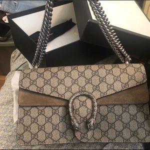 Authentic Gucci Dionysus GG Supreme Bag